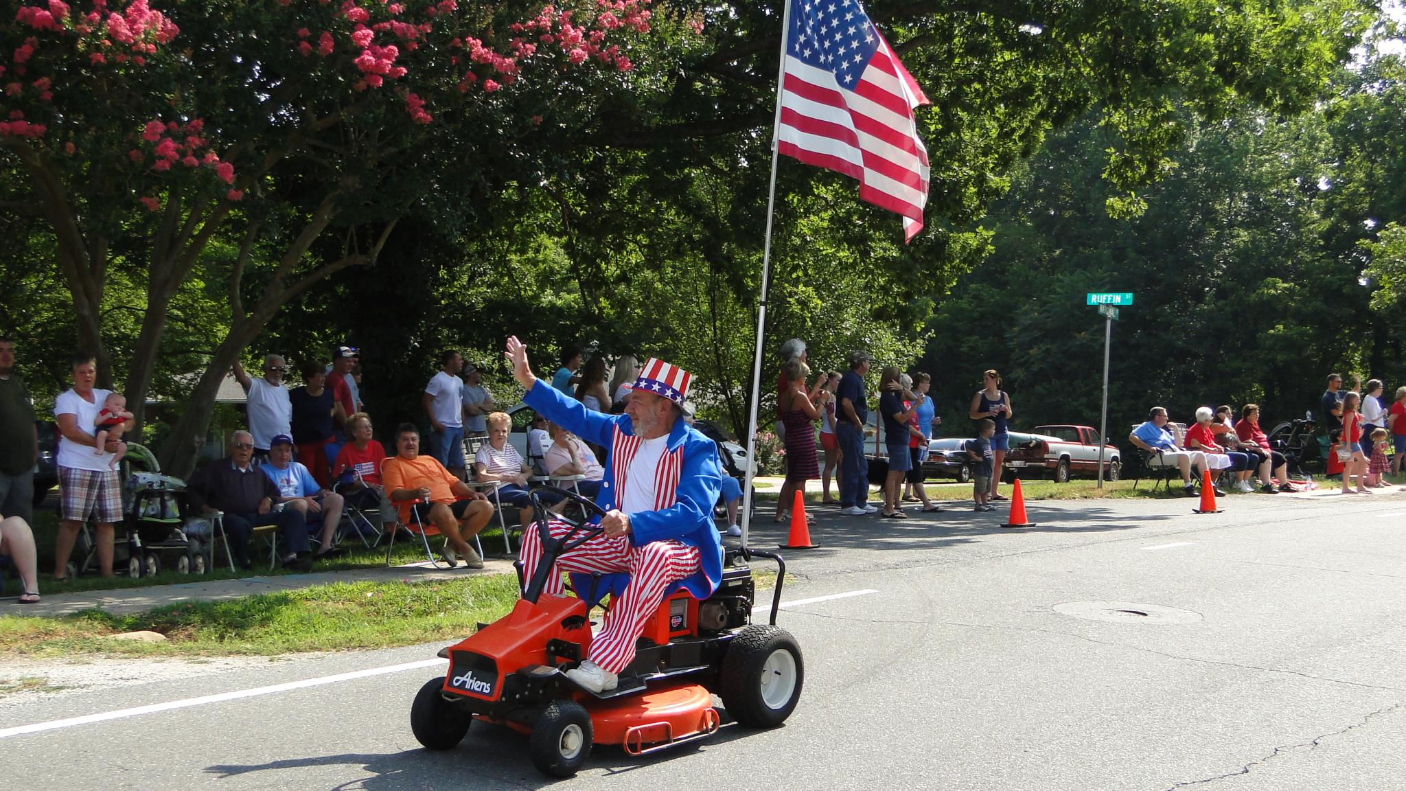 Patriotic Parade Will Be Postponed